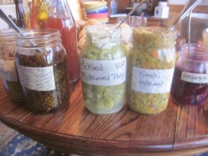 Wild fermented veggies