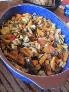Dandelion casserole