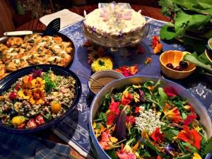 Marc feast table