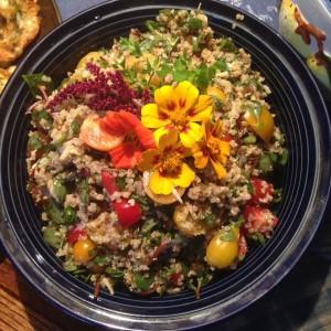 Quinoa Purslane salad